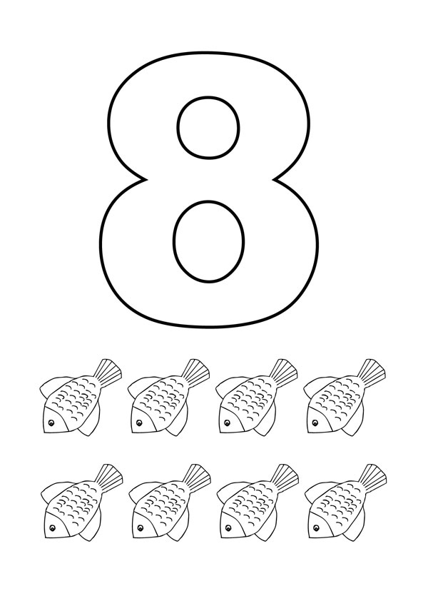 Number 7 coloring pages for toddlers number best free for Number 7 coloring page