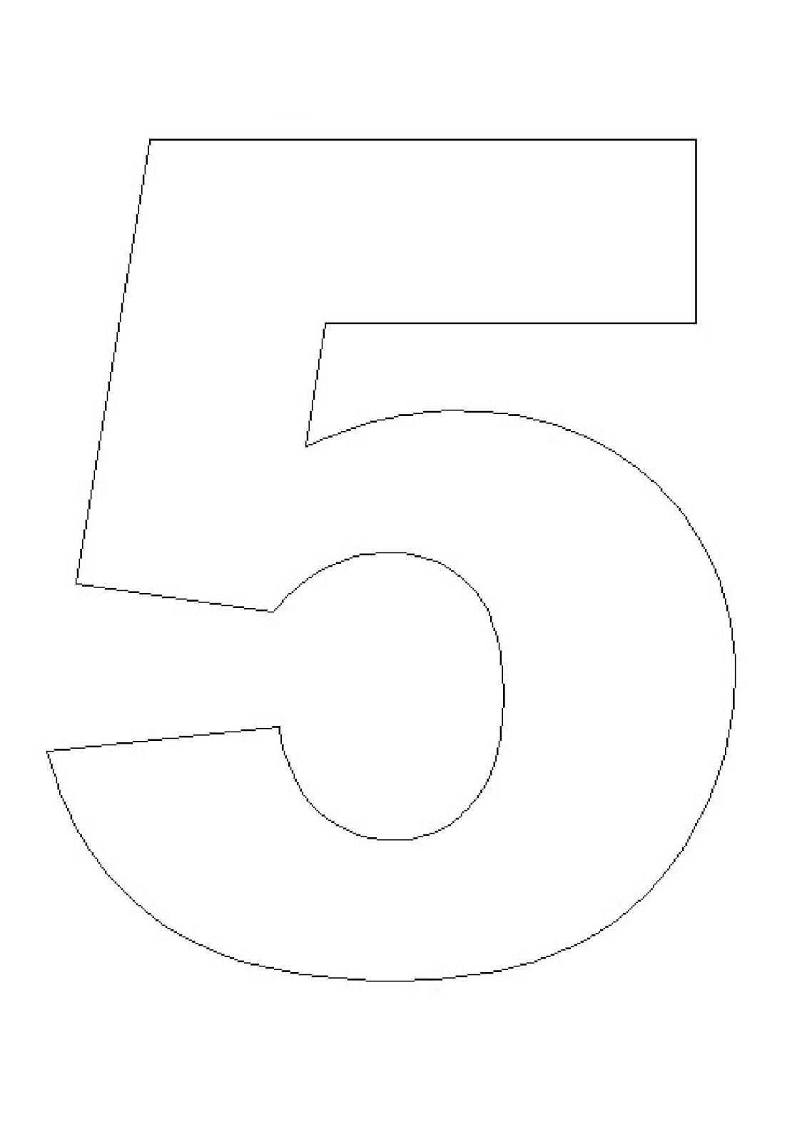 Pinterest Diy Home Decor Crafts Pin Numero 5 Para Colorir Aprender A Escrever Numeros On