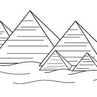 Desenho De Piramide Egipcia Para Colorir Tudodesenhos