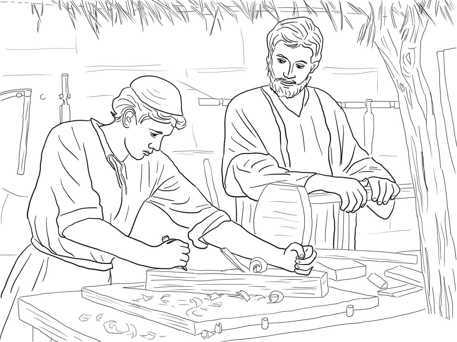 desenhos de jesus para colorir tudodesenhos
