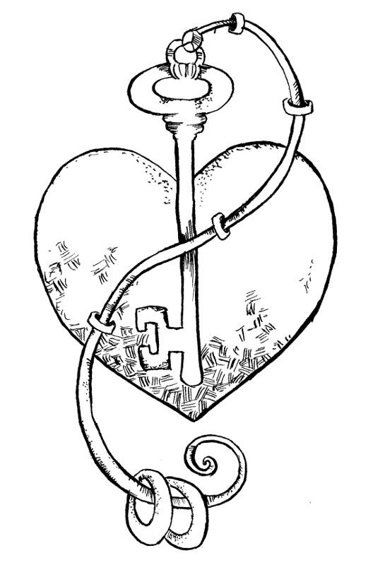 desenho de chave da porta para colorir   tudodesenhos