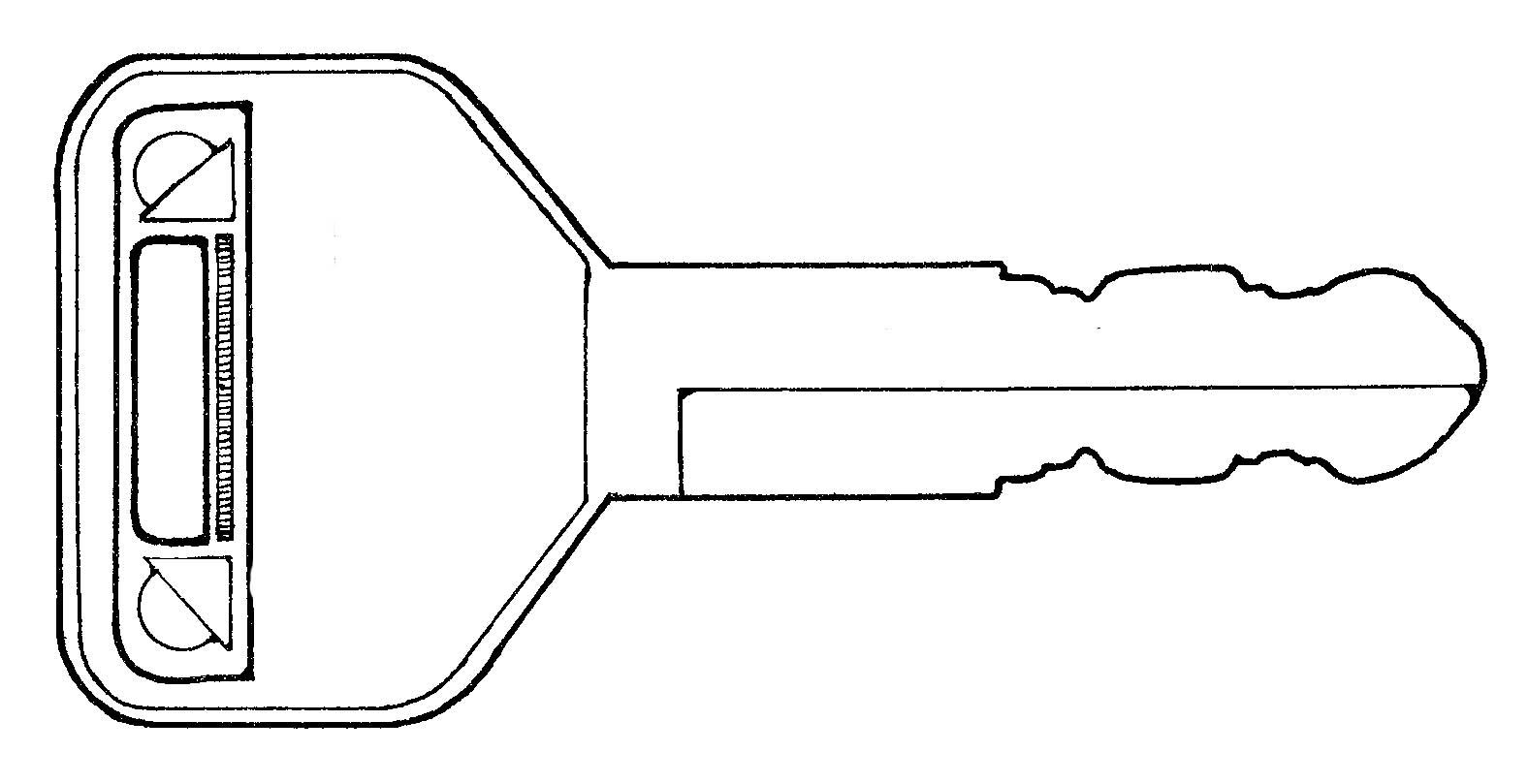 desenho de chave de casa para colorir   tudodesenhos