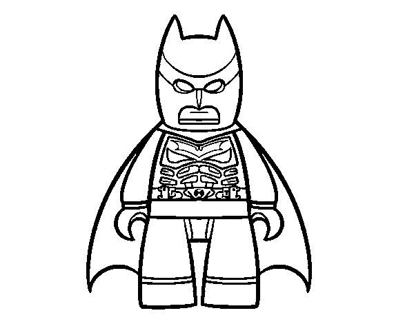 Desenho De Batman Lego Para Colorir