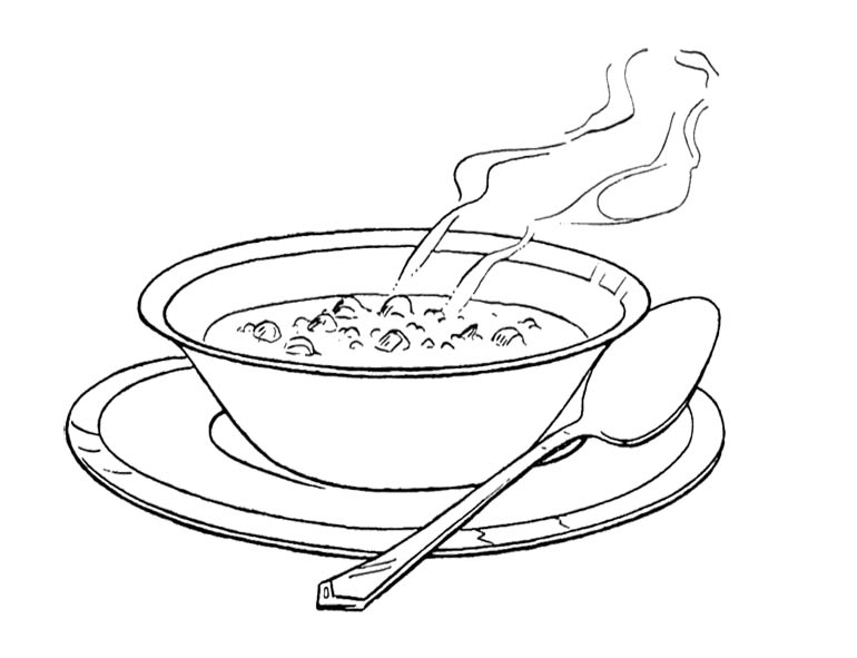 nail soup coloring pages - photo #10