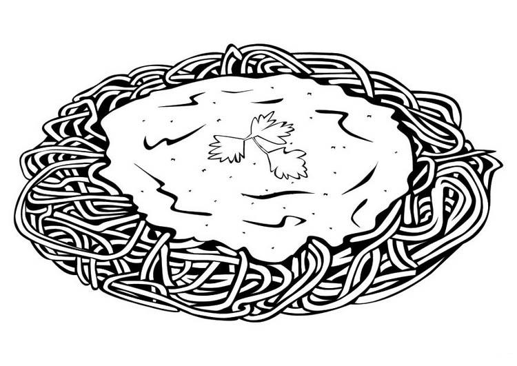 desenho de macarr u00e3o com queijo ralado para colorir tudodesenhos spaghetti dinner clip art royalty free spaghetti dinner clip art church