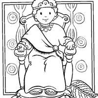 Desenhos De Rei E Rainha Para Colorir Tudodesenhos