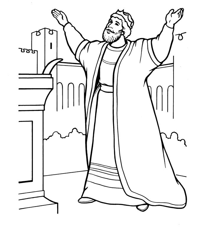 desenho de rei salom u00e3o para colorir