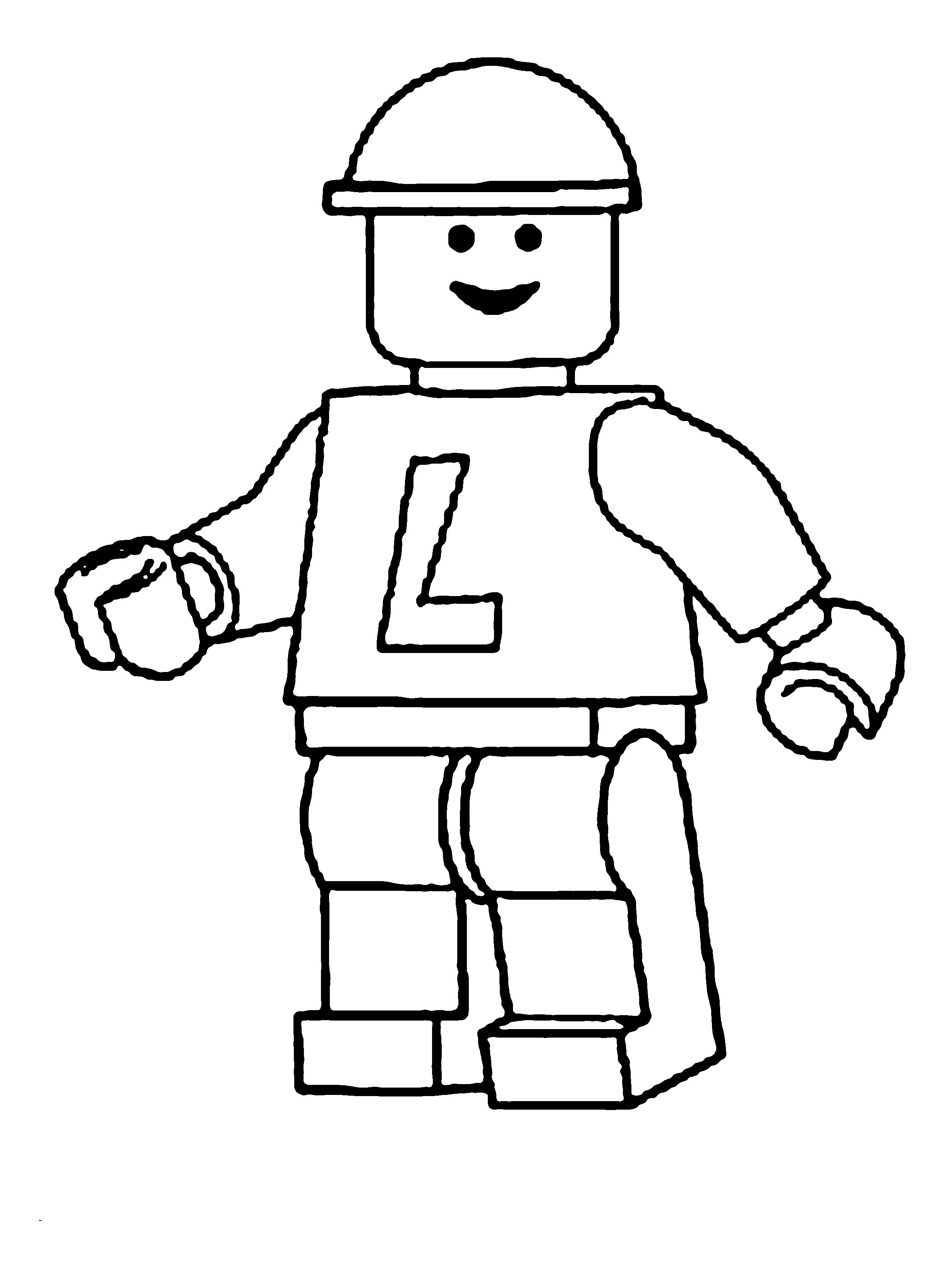 Desenho De Lego Brinquedo Para Colorir