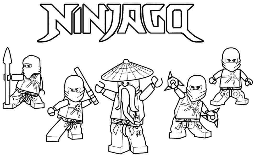 Desenho De Lego Ninjago Para Colorir Tudodesenhos