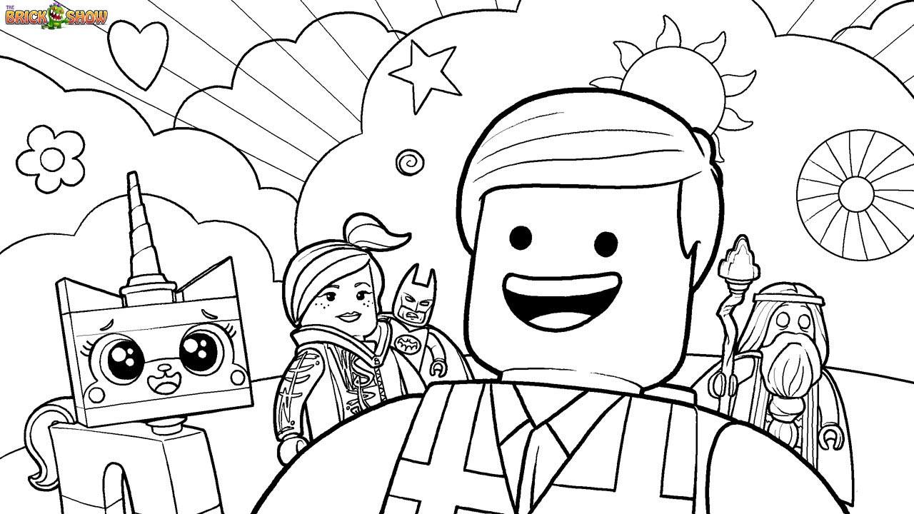 desenho de uma aventura lego para colorir tudodesenhos