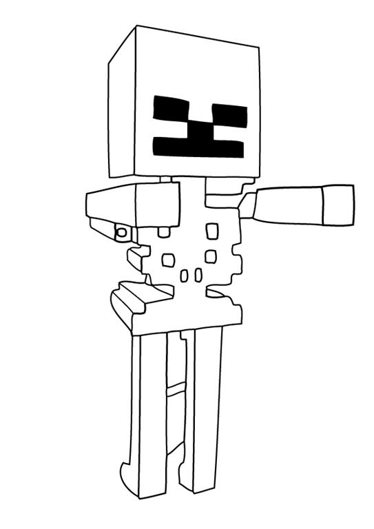 desenhos de minecraft para colorir tudodesenhos