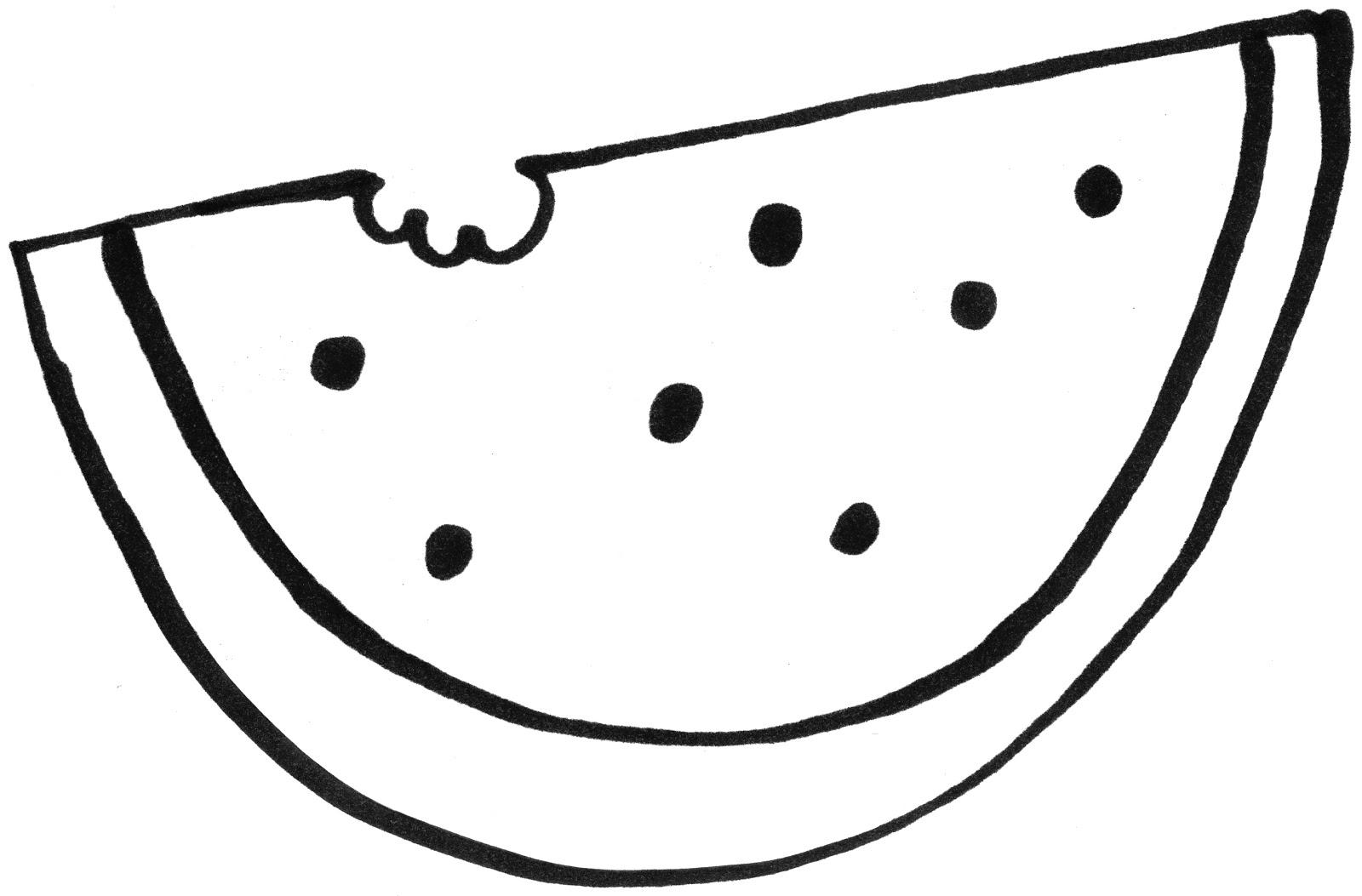 desenho de melancia nórdica para colorir tudodesenhos