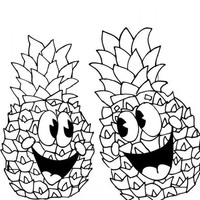 happy apple coloring pages - photo#23