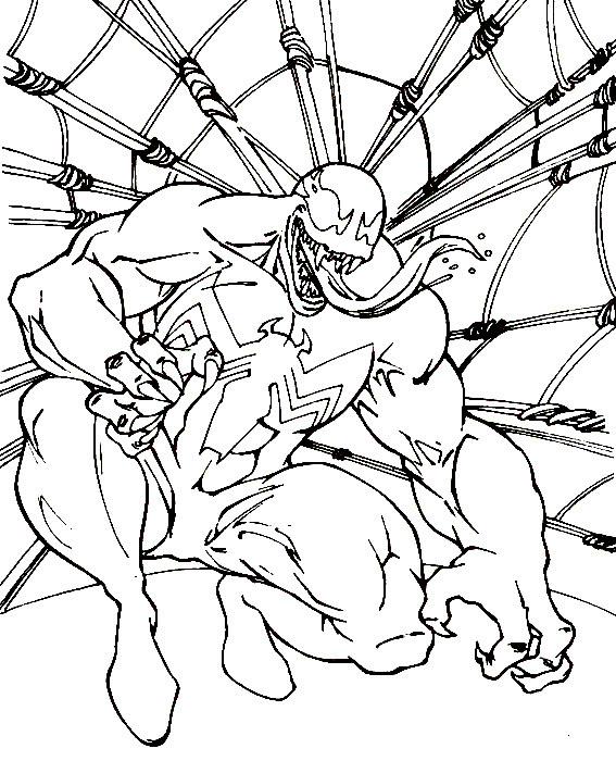 Desenho De Lagarto Inimigo Do Homem Aranha Para Colorir