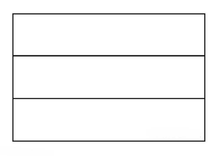 desenho da bandeira de serra leoa para colorir tudodesenhos