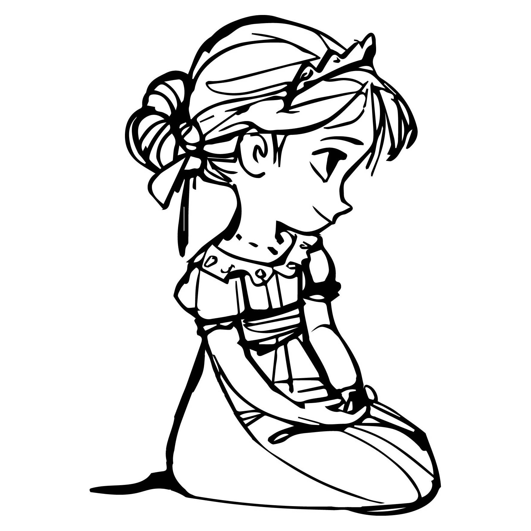 Desenho De Elsa Frozen Bebê Para Colorir Tudodesenhos