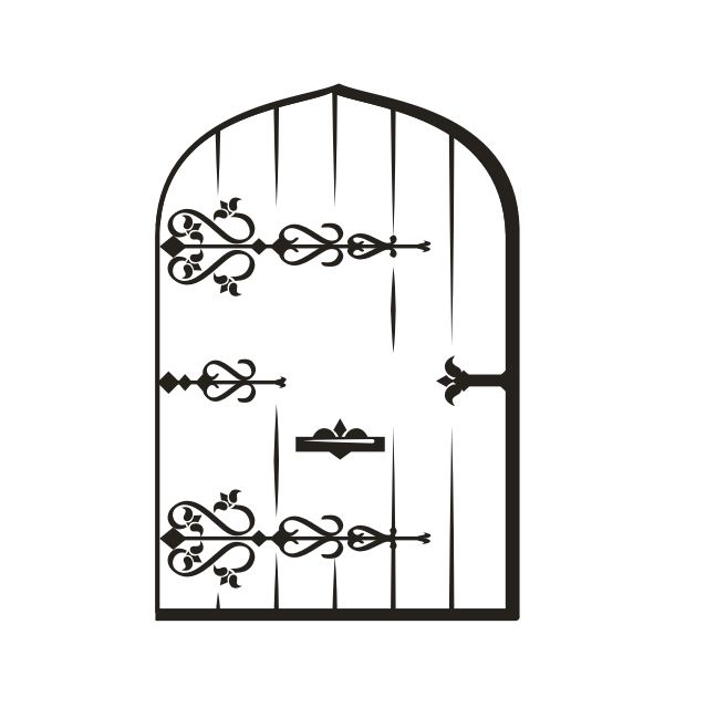 Desenho De Porta Para Colorir Tudodesenhos