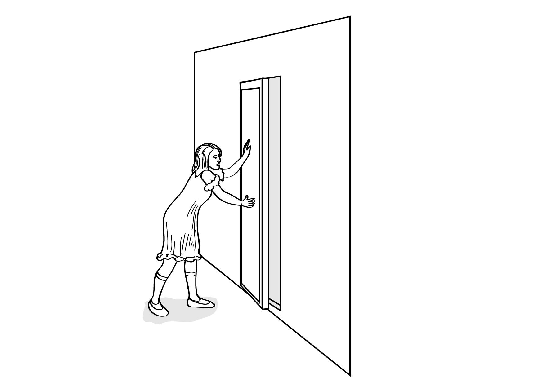 Closing Doors F : Close door sign clip art