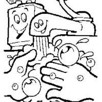 desenhos de higiene pessoal para colorir tudodesenhos