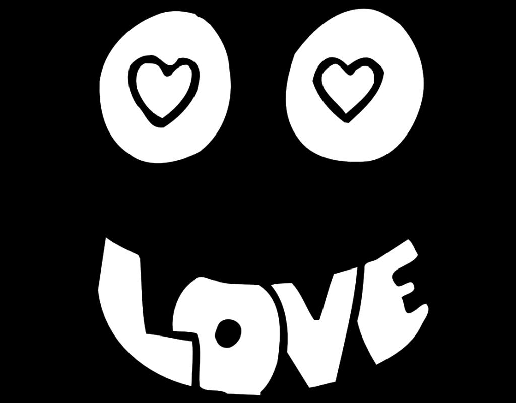 desenho de olhos apaixonados para colorir tudodesenhos