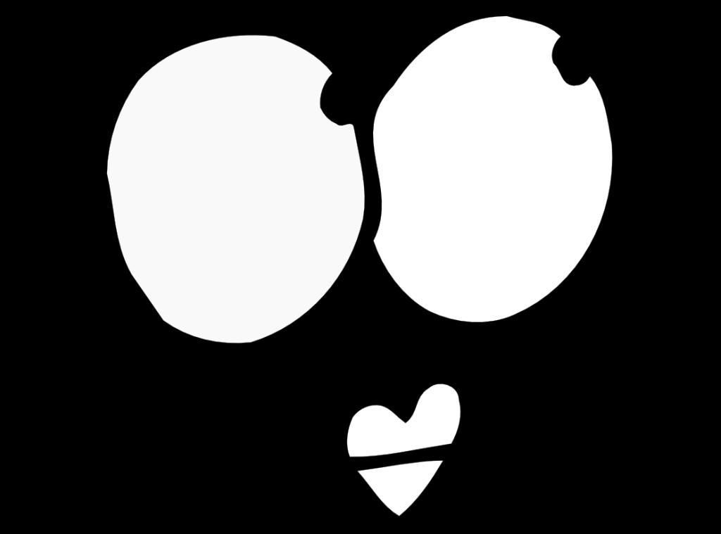 Desenho De Coracao Grande Para Imprimir: Desenho De Olhos E Boquinha De Coração Para Colorir