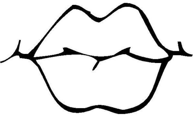 desenho de boca de peixinho para colorir tudodesenhos