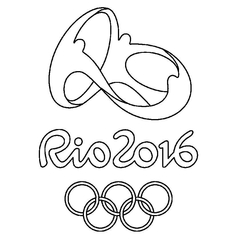 olympics symbol coloring pages - photo#15