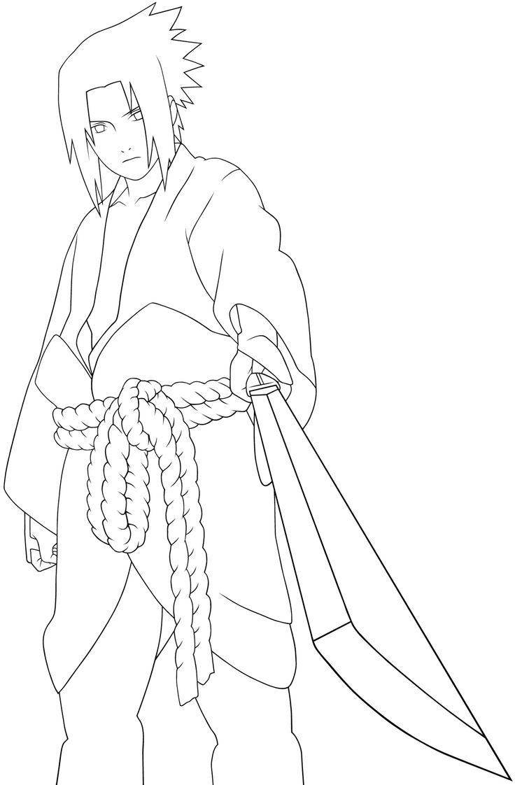 Desenho De Sasuke Uchiha Para Colorir Tudodesenhos