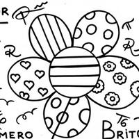 Desenho De Peixe Romero Britto Para Colorir Tudodesenhos