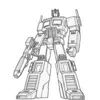 desenho de optimus prime para colorir tudodesenhos
