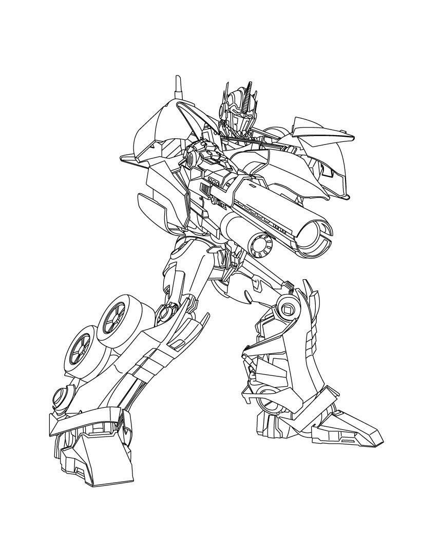 Desenho De Strongarm Transformers Para Colorir Tudodesenhos