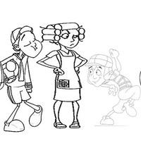 desenho de chaves e seu madruga para colorir   tudodesenhos