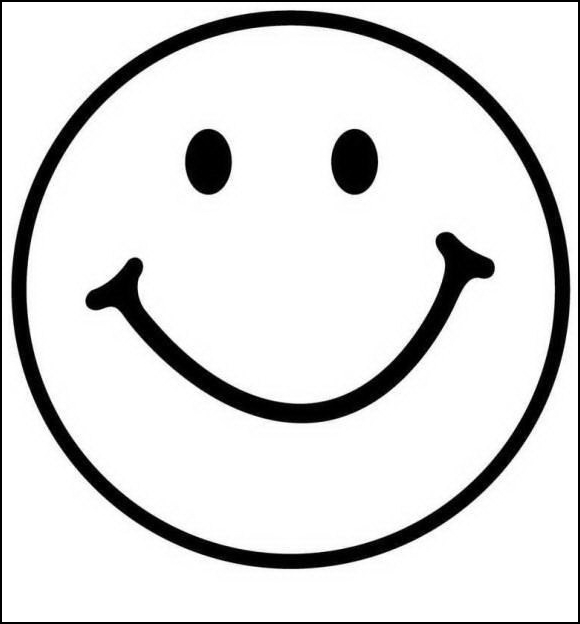 Desenho De Carinha Com Sorriso Para Colorir Tudodesenhos