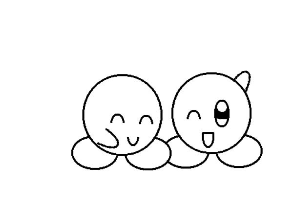 Desenho De Carinhas De Melhores Amigos Para Colorir
