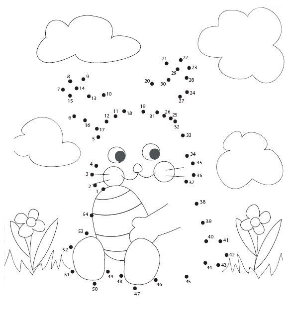 Desenho De Ligar Pontos Coelho Da Pascoa E Cenoura Para Colorir
