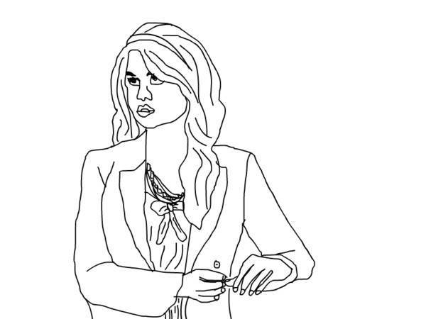 Jessie cast coloring pages coloring pages for Austin and ally coloring page