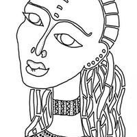 Desenhos De Dia Da Consciencia Negra Para Colorir Tudodesenhos
