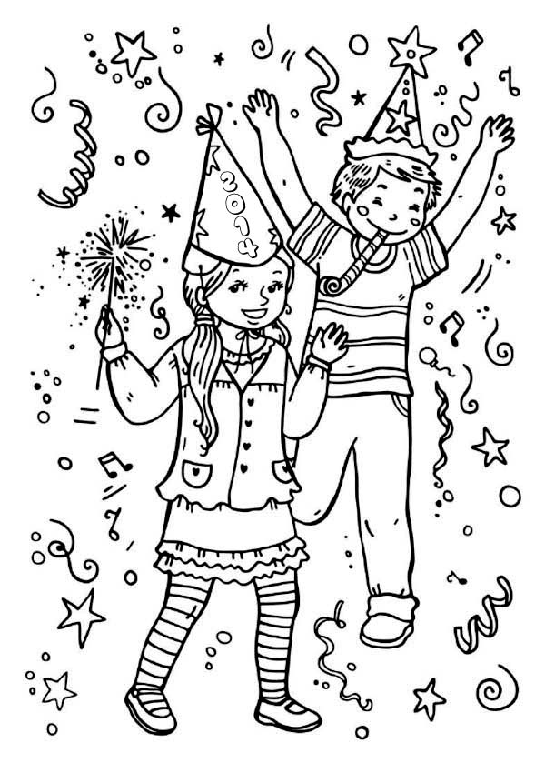Noise Maker Coloring Sheets Www Picsbud Com