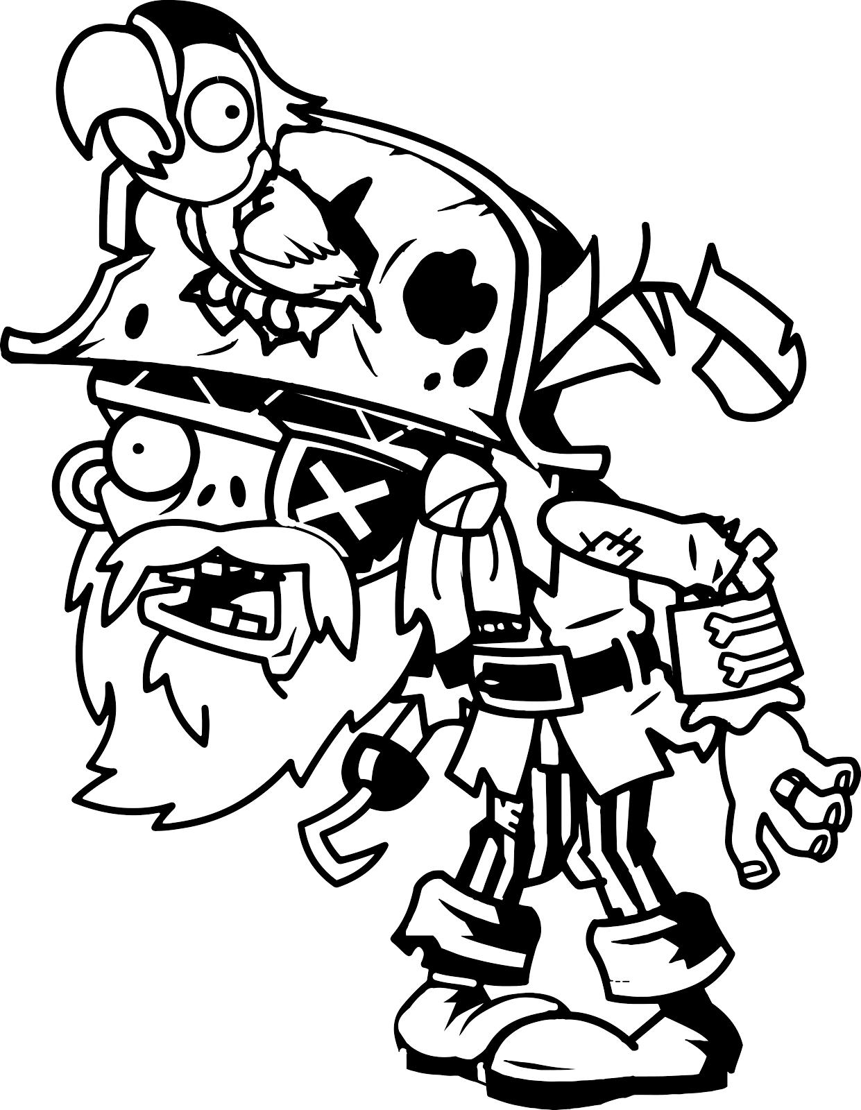 Desenho De Cereja Bomba De Plants Vs Zombies Para Colorir