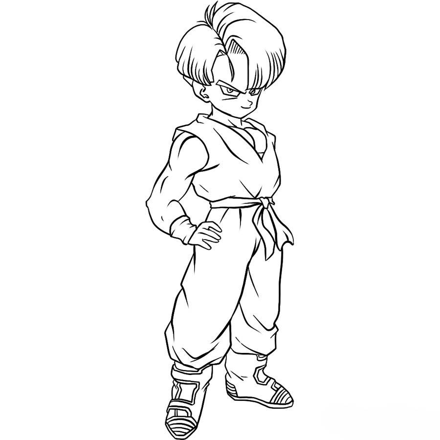 holiday coloring pages dragon ball z gohan coloring pages free