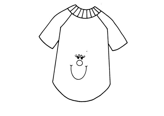 Desenho de camisa com estampa de carinha para colorir - Dibujos para pintar camisetas infantiles ...