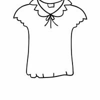 desenho de camiseta para colorir tudodesenhos