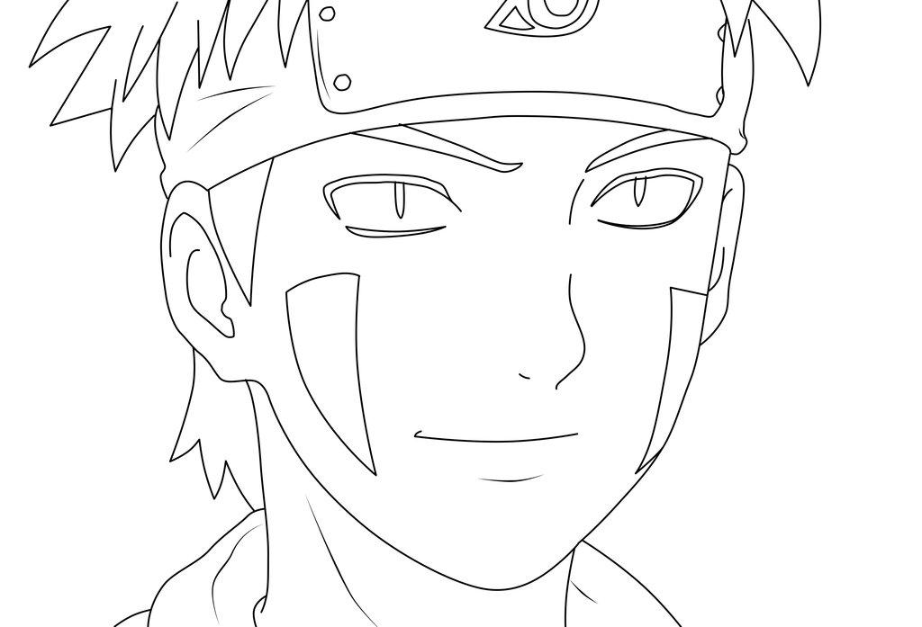 Dibujos De Kakashi Para Colorear: Dibujos Para Colorear De Naruto