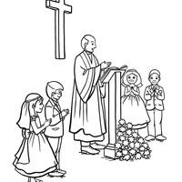 Desenhos De Igreja Para Colorir Tudodesenhos