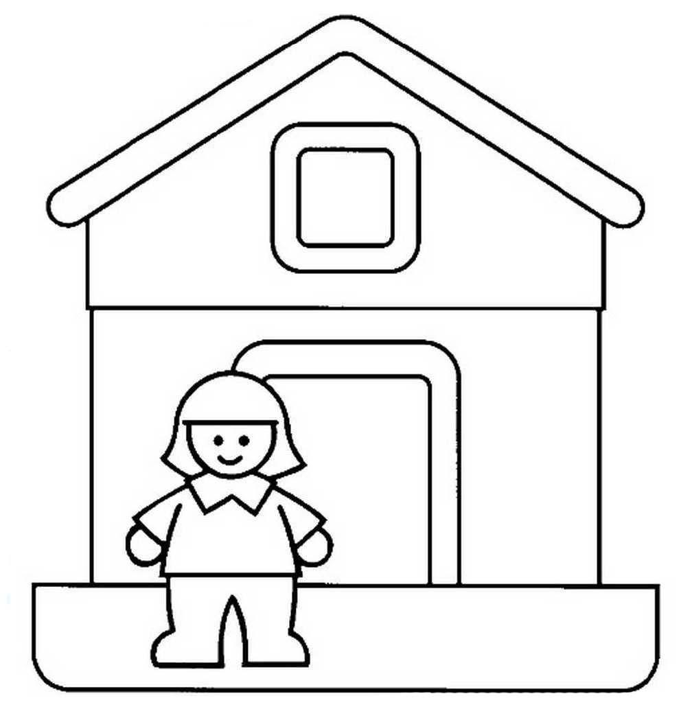 Imagens De Banheiro Para Colorir : Imagens de casinha para colorir desenhos casa