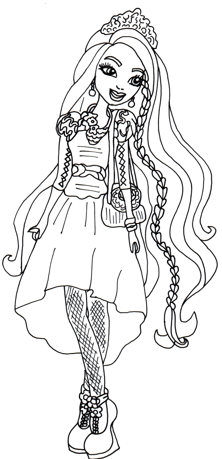 Ever After High Baby Dragons Coloring Pages Dragon