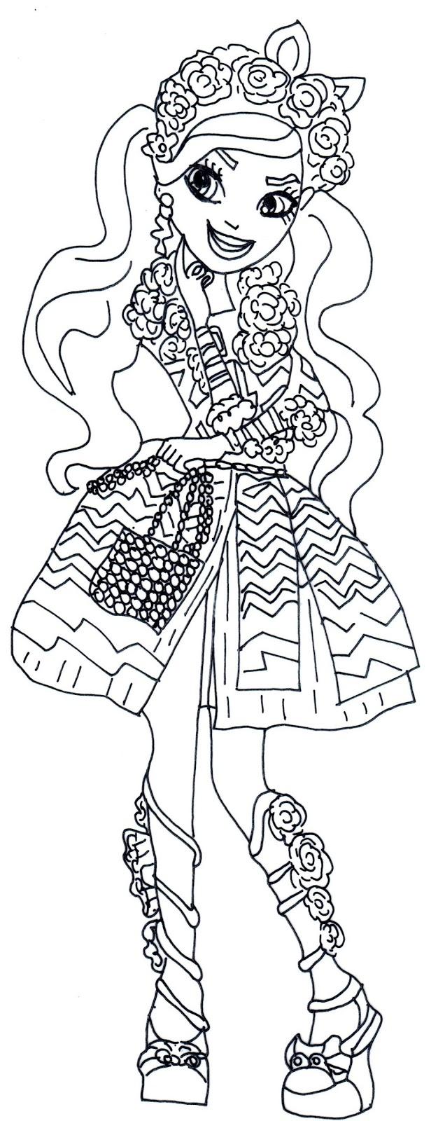 Desenho De Kitty Cheshire Para Colorir Tudodesenhos