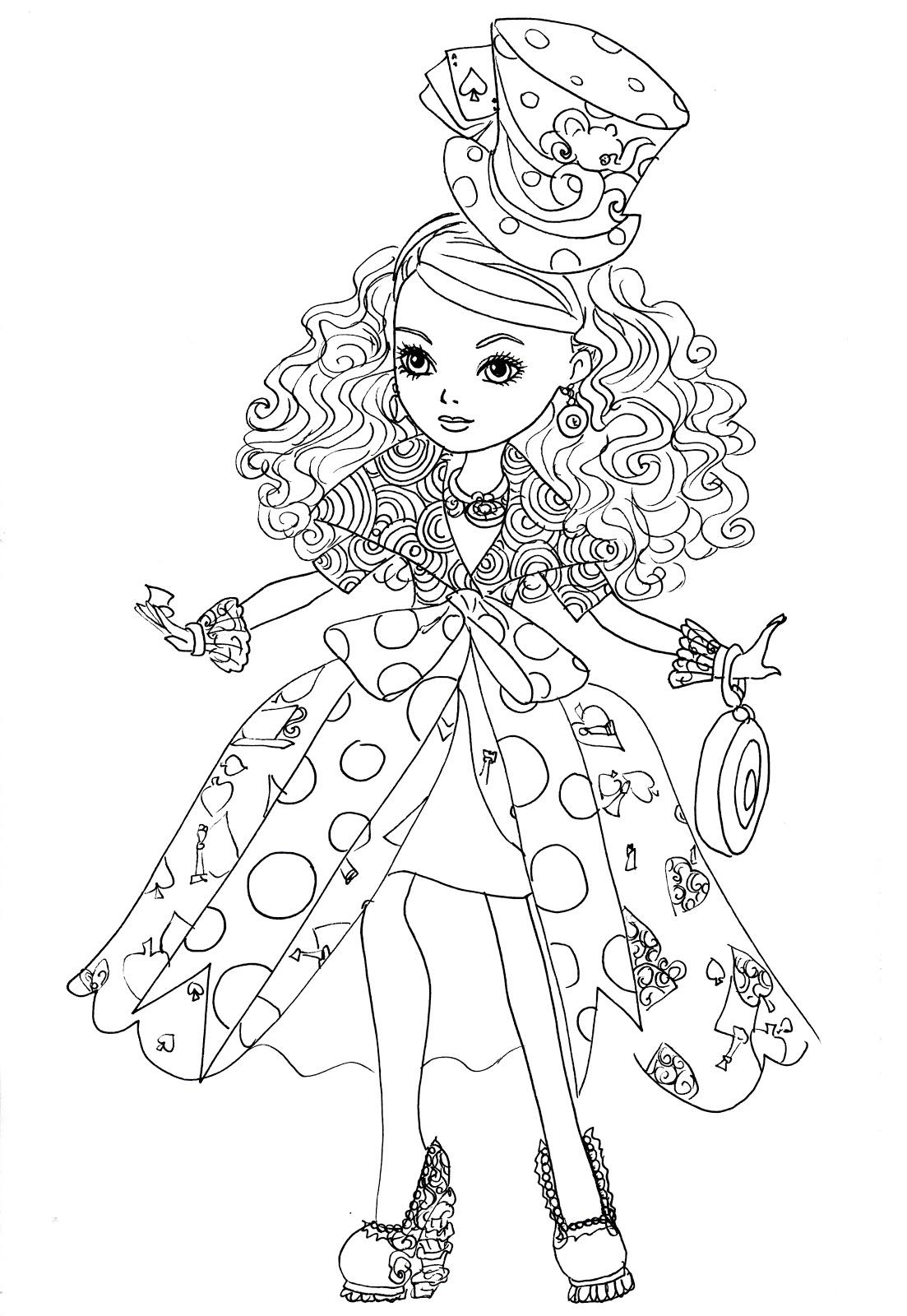 Desenho De Maddie De Ever After High Para Colorir Tudodesenhos