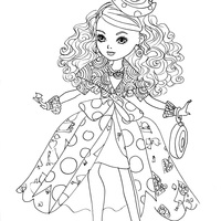 Desenho de Maddie de Ever After High para colorir