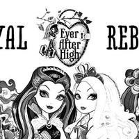 Desenho de Royal Rebel de Ever After High para colorir